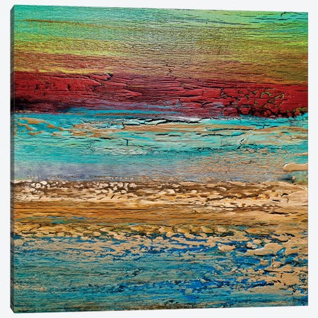 Coastal I Canvas Print #DUN56} by Alicia Dunn Canvas Artwork