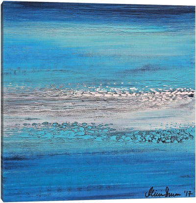 Blue Dreams Canvas Art Print