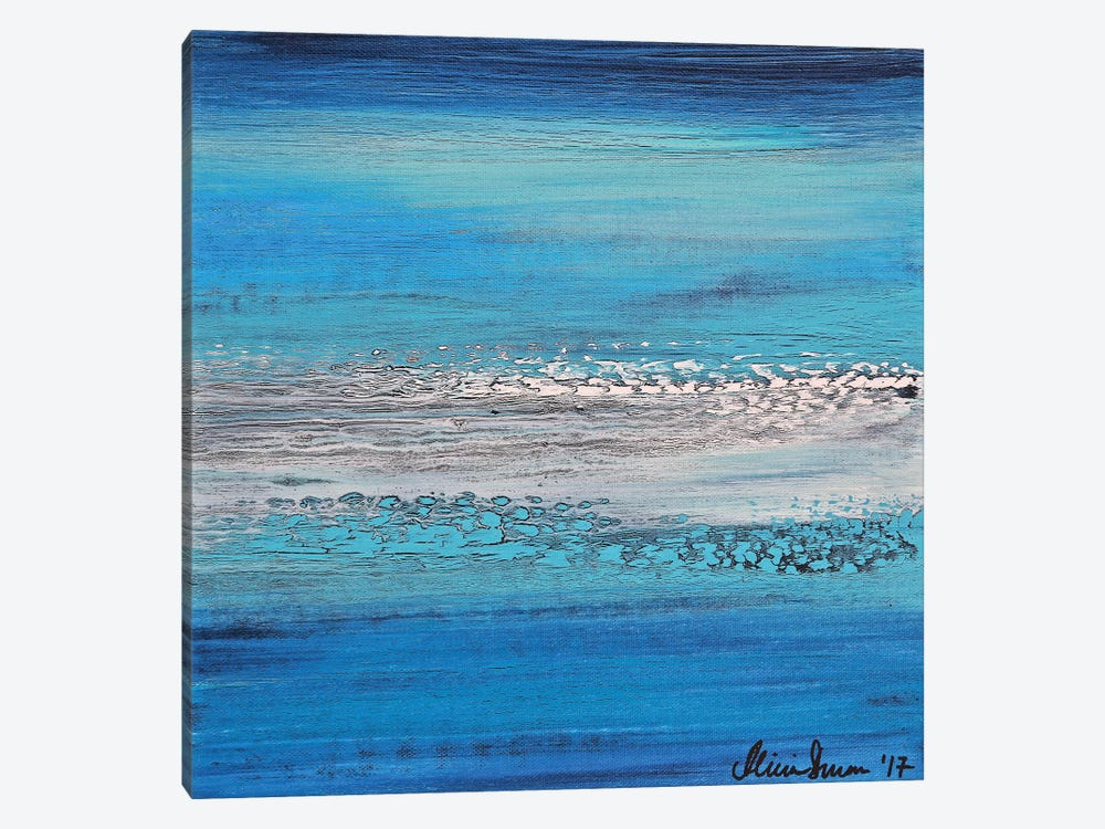 Blue Dreams by Alicia Dunn 1-piece Canvas Artwork