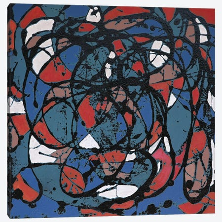 Falling Leaves 1952 Canvas Print #DUN64} by Alicia Dunn Canvas Print