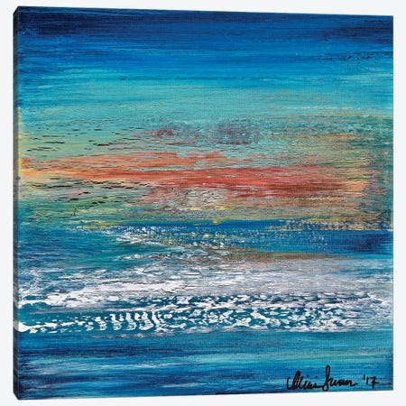 What's Left Behind Canvas Print #DUN72} by Alicia Dunn Art Print