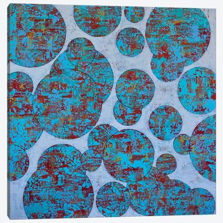 Many Moons Canvas Print #DUN80} by Alicia Dunn Canvas Wall Art