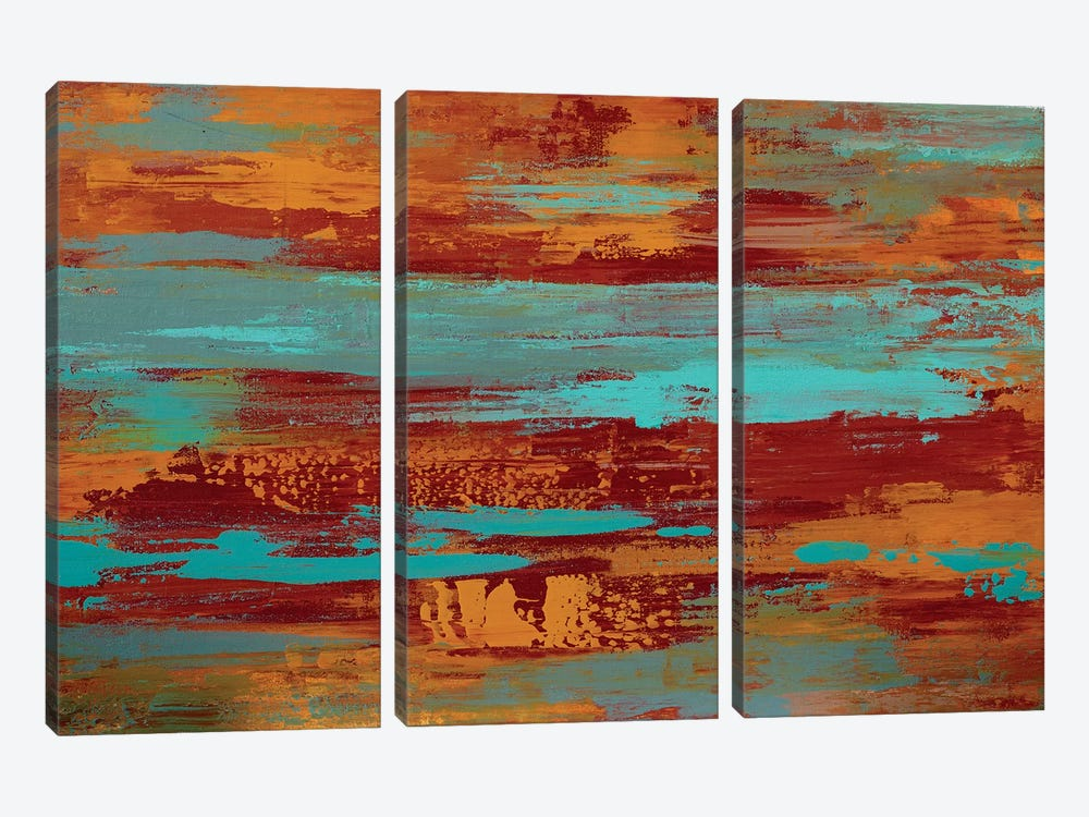 Untitled I by Alicia Dunn 3-piece Canvas Art