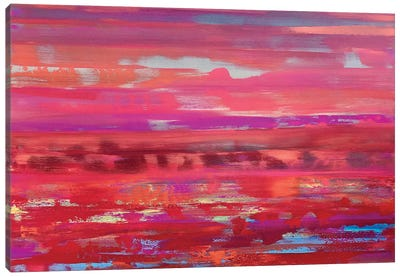 Daring Intensity Canvas Art Print