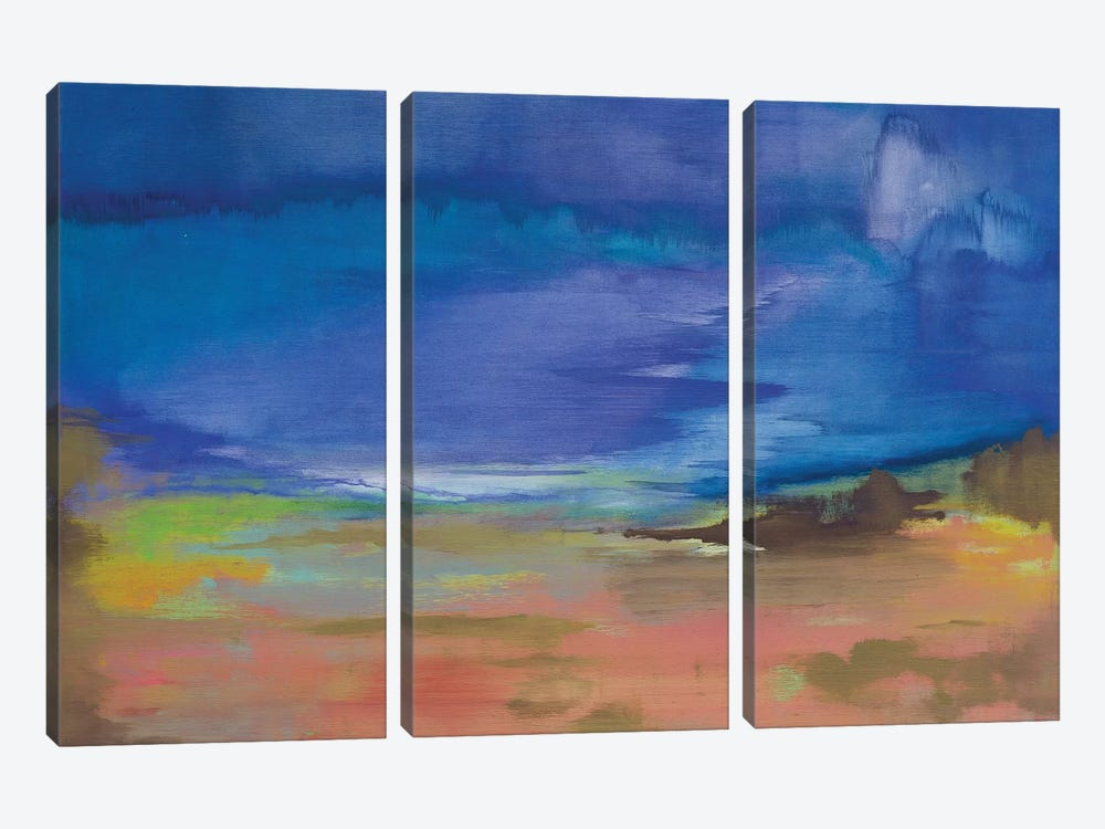 Drifting Off by Alicia Dunn 3-piece Canvas Wall Art