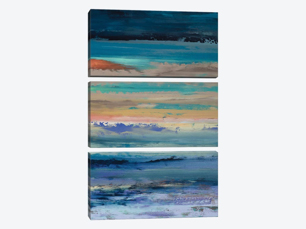 Dynamic Vibrations by Alicia Dunn 3-piece Art Print