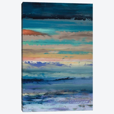Dynamic Vibrations 3-Piece Canvas #DUN9} by Alicia Dunn Canvas Print