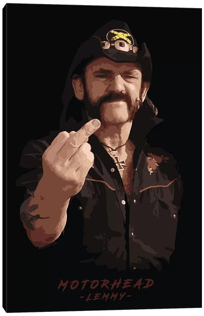 Motorhead Lemmy Canvas Art Print