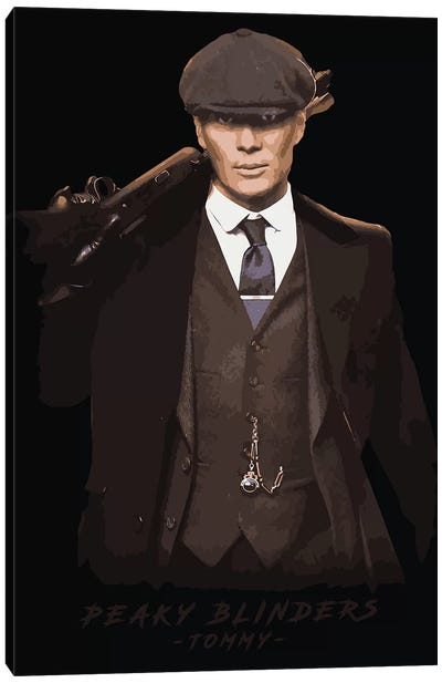 Peaky Blinders Tommy Canvas Art Print