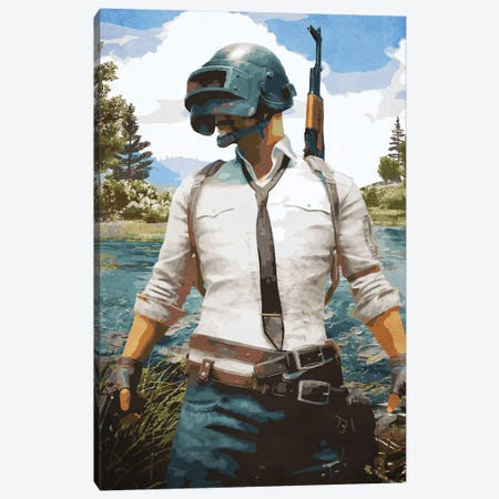 Pubg Gaming Canvas Print #DUR117} by Durro Art Canvas Artwork