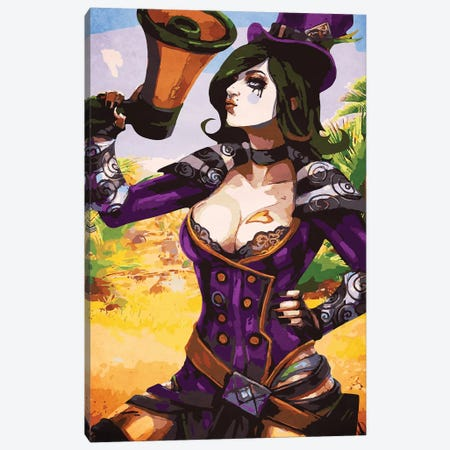 Borderlands Moxxi Canvas Print #DUR120} by Durro Art Canvas Art
