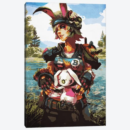 Borderlands Tina Canvas Print #DUR122} by Durro Art Canvas Artwork