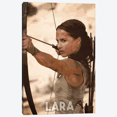 Lara Canvas Print #DUR152} by Durro Art Canvas Print