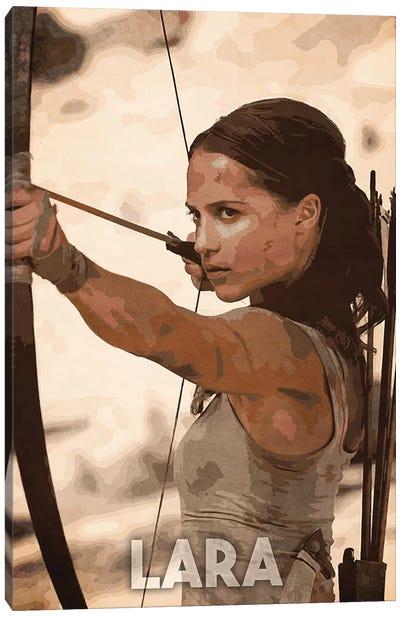 Lara Canvas Art Print