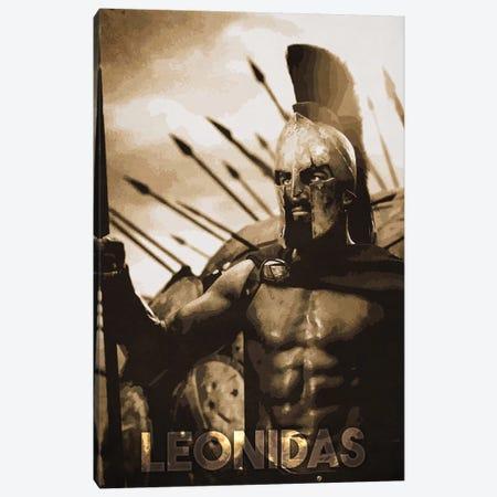 Leonidas Canvas Print #DUR153} by Durro Art Canvas Print