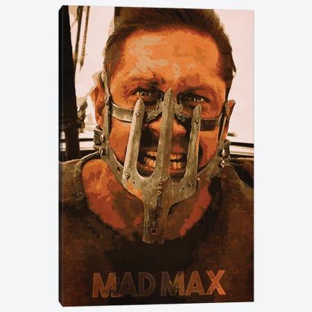 Mad Max Canvas Print #DUR154} by Durro Art Canvas Art