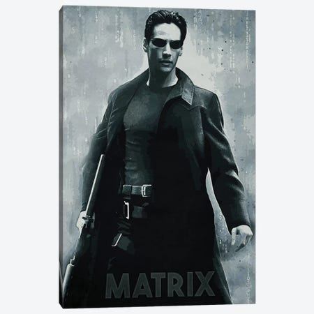 Matrix Canvas Print #DUR155} by Durro Art Canvas Art