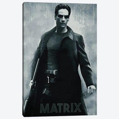Matrix Canvas Print #DUR155} by Durro Art Canvas Art
