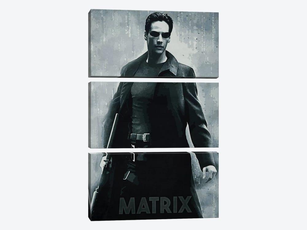 Matrix by Durro Art 3-piece Art Print