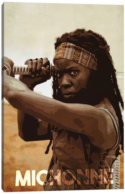 Michonne Canvas Art Print