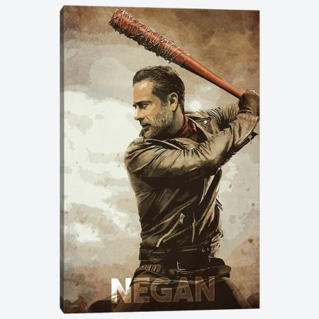 Negan Canvas Print #DUR158} by Durro Art Canvas Print