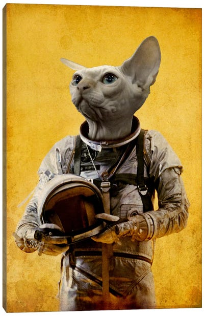 Proud Astronaut Canvas Art Print