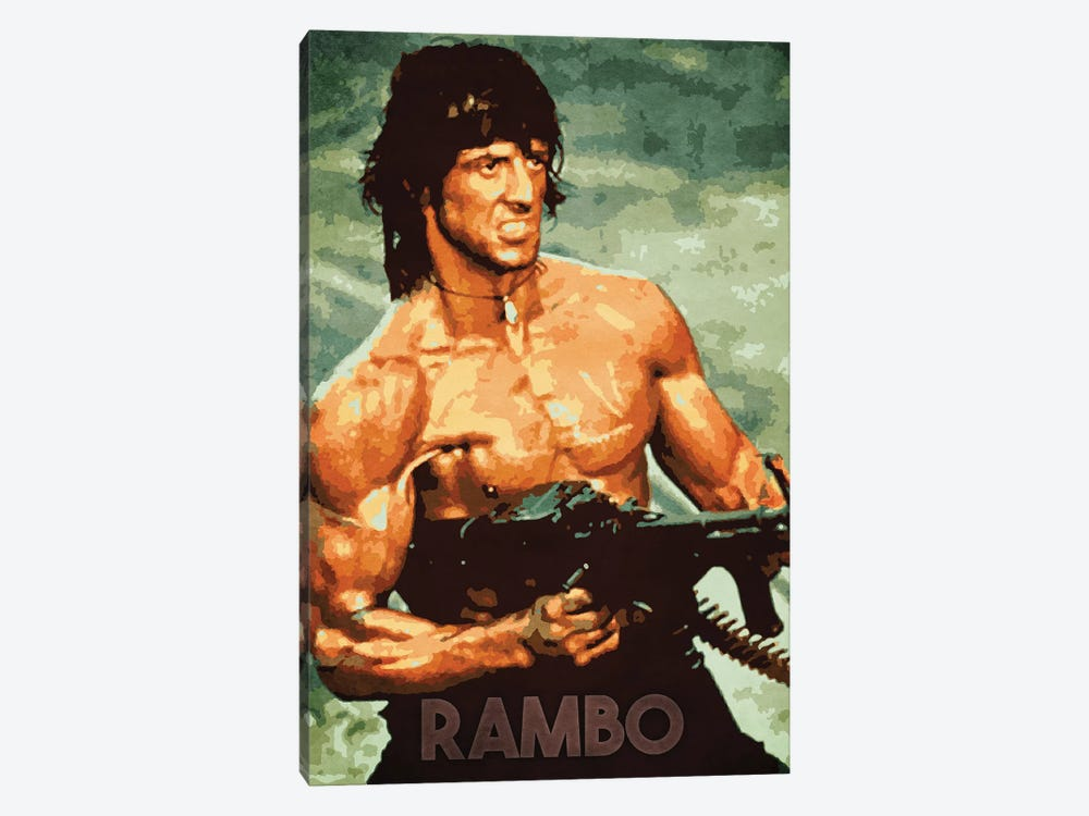 Rambo by Durro Art 1-piece Canvas Print