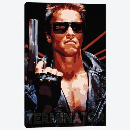 Terminator Canvas Print #DUR165} by Durro Art Art Print