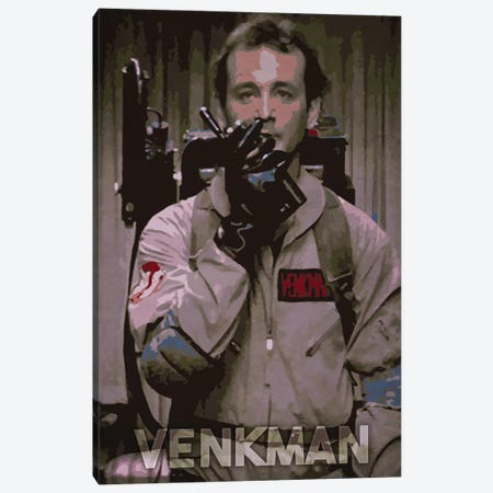 Venkman Canvas Print #DUR167} by Durro Art Canvas Art Print