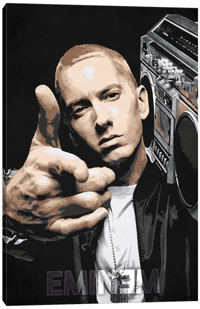 Eminem Canvas Art Print