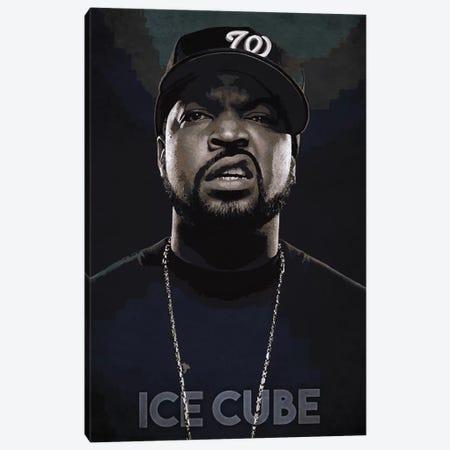 Ice Cube Canvas Print #DUR182} by Durro Art Canvas Wall Art