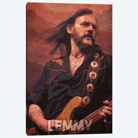 Lemmy Canvas Print #DUR186} by Durro Art Canvas Art Print