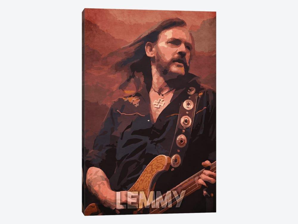 Lemmy by Durro Art 1-piece Canvas Print