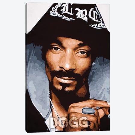 Dogg Canvas Print #DUR193} by Durro Art Canvas Art Print