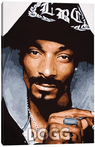 Dogg Canvas Art Print
