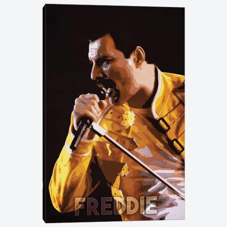 Freddie Canvas Print #DUR195} by Durro Art Canvas Art