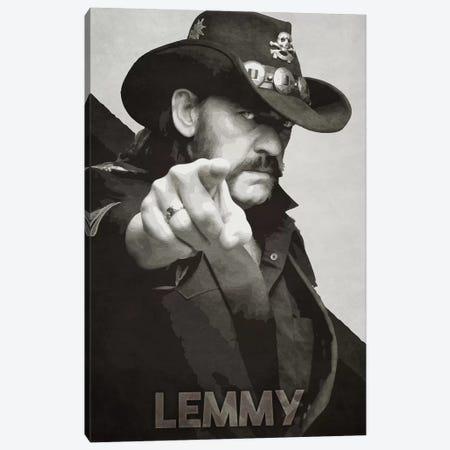 Lemmy K II Canvas Print #DUR198} by Durro Art Canvas Art Print