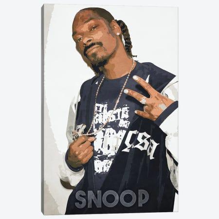 Snoop II Canvas Print #DUR199} by Durro Art Canvas Print