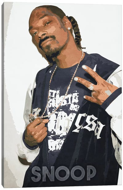 Snoop II Canvas Art Print