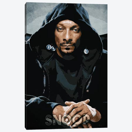 Snoop III Canvas Print #DUR200} by Durro Art Canvas Art Print