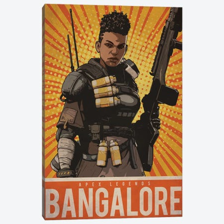 Bangalore Canvas Print #DUR204} by Durro Art Canvas Art
