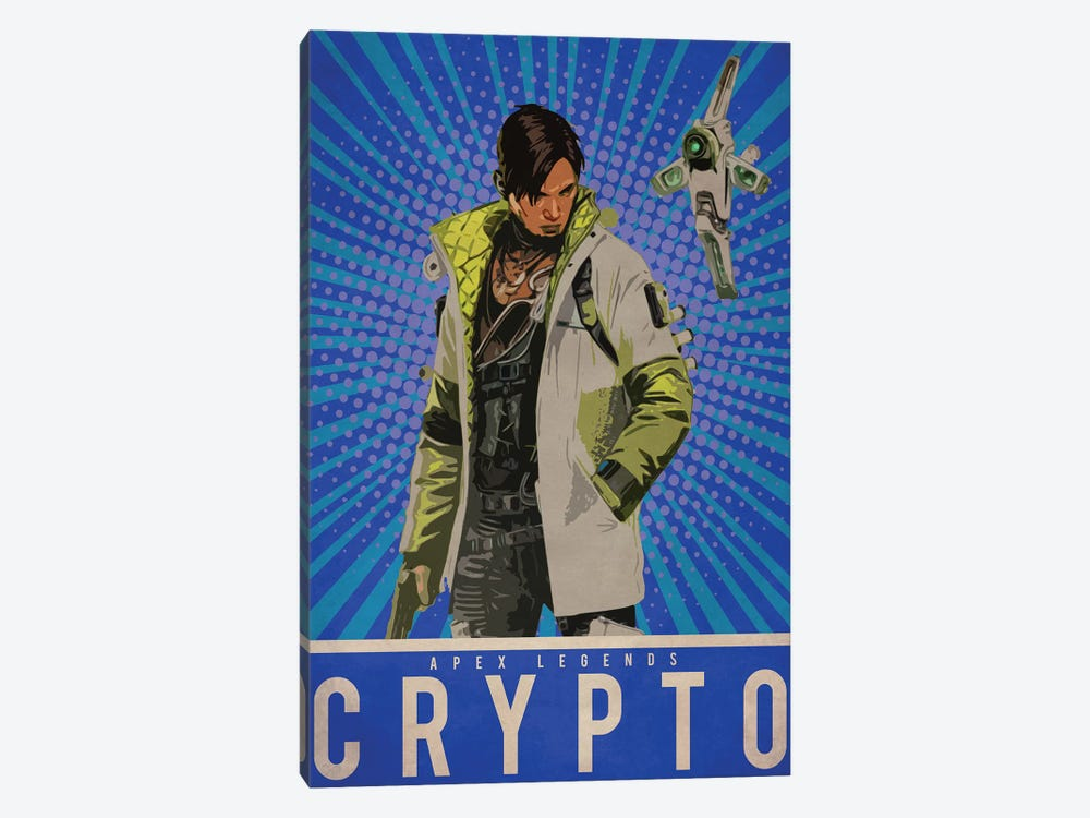 Crypto by Durro Art 1-piece Canvas Wall Art