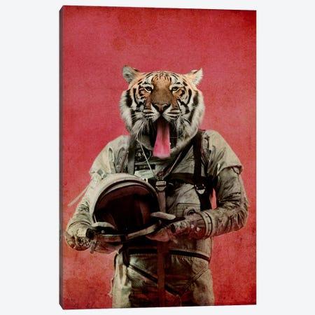 Space Tiger Canvas Print #DUR20} by Durro Art Canvas Artwork