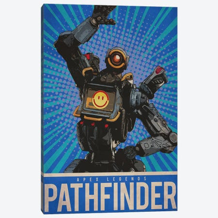 Pathfinder Canvas Print #DUR212} by Durro Art Canvas Artwork