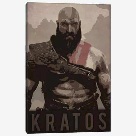 Kratos Canvas Print #DUR217} by Durro Art Canvas Print