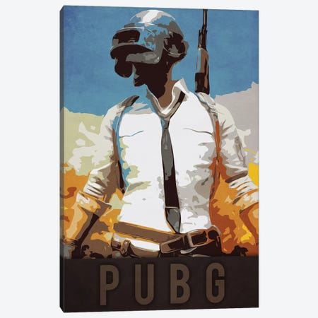 PUBG Canvas Print #DUR218} by Durro Art Canvas Art