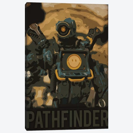Pathfinder Apex Canvas Print #DUR219} by Durro Art Canvas Art