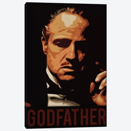 Godfather Canvas Print #DUR221} by Durro Art Canvas Print