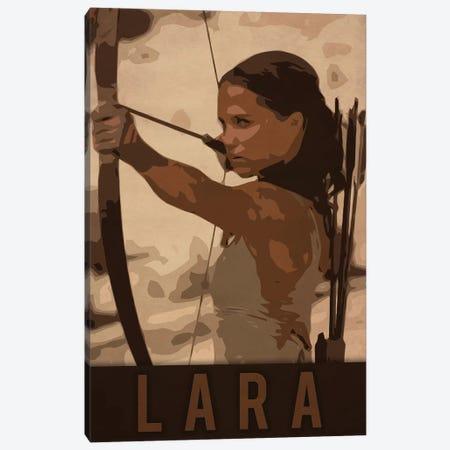 Lara Canvas Print #DUR222} by Durro Art Art Print