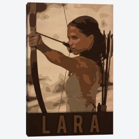 Lara Canvas Print #DUR222} by Durro Art Art Print
